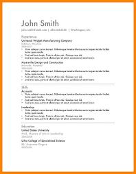 free microsoft resume templates 9 basic resume templates word letter adress