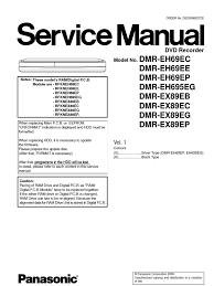 dmr ex89 service manual electrostatic discharge manufactured goods