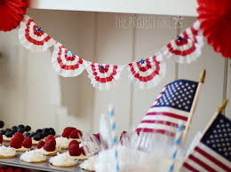 4th Of July Bunting Decorations 4th Of July Party Ideas Banners Cupcakes And Utensil Holders