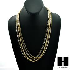 hip necklace chain images Hip hop 4 chains rope box gucci miami cuban link necklace jpg