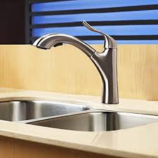 Kitchen Faucet Nickel by Contemporary Solid Brass Pull Out Kitchen Faucet Nickel Finish