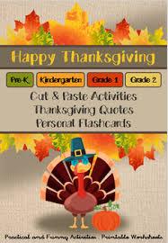 thanksgiving craft activities pre k kinder grades 1 2