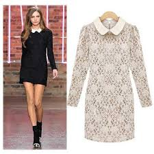 free shipping new fashion 2012 autumn winter european style short evening black white casual cocktail plus jpg