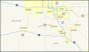 Road Map Of Arizona by Arizona State Route 238 Wikipedia