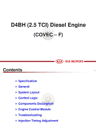 d4bh engine 1 throttle pump