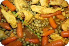 cuisiner les petit pois tagine poulet petit pois carottes