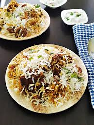 biryani indian cuisine mutton biryani recipe gosht biryani my indian taste