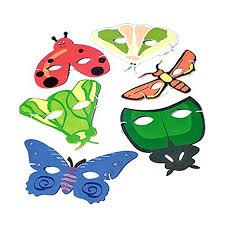 amazon com dozen bug animal masks toys u0026 games