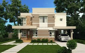 Floor Plan Modern House Modern House Design Series Mhd 2012006 Pinoy Eplans