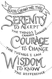Serenity Prayer Meme - craving control step program serenity and programming