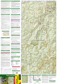 United States Map With Mileage Scale by Buffalo National River West National Geographic Trails