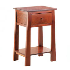 end table with shelves modern accent table craftsman style 1 drawer small accent tables