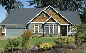 home design craftsman style ranch homes decks landscape