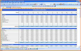 Yearly Expense Report Template Excel by Monthly Expense Spreadsheet Thebridgesummit Co