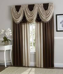 Modern Window Valance furniture luxury interior design with white modern table near