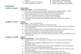 Restaurant Waitress Resume Sample by Restaurant Server Resume Sample Resume Waiter Server