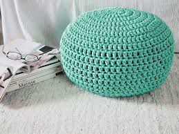 amazon com aqua turquoise nursery foot stool pouf ottoman tiffany