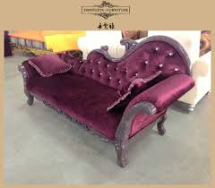 Chaise Lounge Sofas by Antique Leisure Sofa Couch Carved Button Sofa Chair Royal Chaise