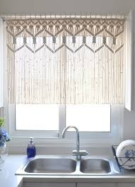 Kitchen Curtain Ideas Pinterest by 25 Best Macrame Curtain Ideas On Pinterest How To Macrame