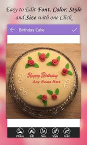 name on birthday cake android apps on google play