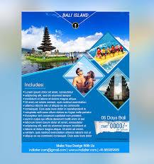 island brochure template bali island travel flyer template indiater