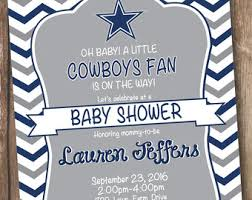 dallas cowboys baby shower invitations marialonghi com