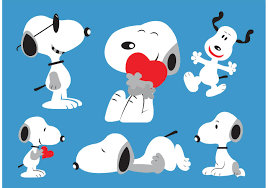 Snoopy Sticker Vectors Download Free Vector Art Stock Graphics