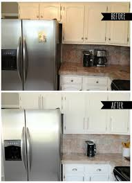 Painting Kitchen Cabinets Before And After Charming Design - Kitchen cabinets nashville