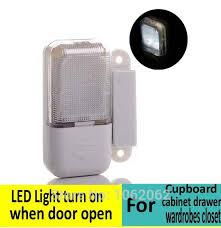 Closet Light Turns On When Door Opens Cupboard Cabinet Drawer Wardrobes Closet Led Lights Light Turns On