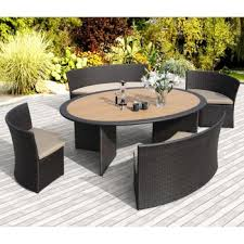 Venice Outdoor Furniture by Costco Venice 5 Piece Patio Dining Set By Sirio Deck
