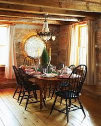 Log Cabin Dining Room Furniture Cute Log Cabin Christmas Decorations