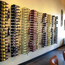 furniture attractive wall mount wine rack for modern room design