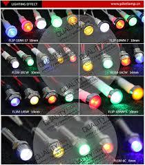 panel mount indicator lights wenzhou high brightness metal 6mm panel mount green 24v led square