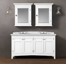 Shaker Style Bathroom Cabinets by Bathroom Vanity Crema Marfil White Includes White Shaker Style