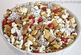 christmas snack mix sweet and salty