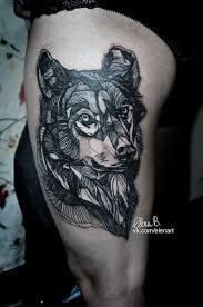 i wish i had one like that tattoos wolf