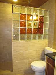 glass block bathroom ideas glass block bathrooms donatz info