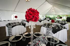 red and white table decorations for a wedding modern concept red and white table decorations with red white and