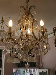 1930s Chandelier by Very Pretty Four Light Marie Therese Chandelier 1930s Youngandson