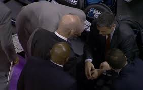 Basketball Coach Business Cards Video Uva Coach Tony Bennett Collapses On Sideline Business Insider