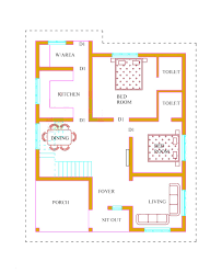 2 bedroom house plans in kerala model house plans