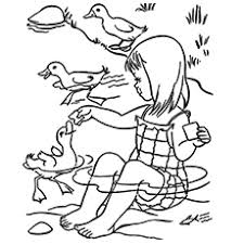 20 free printable duck coloring pages
