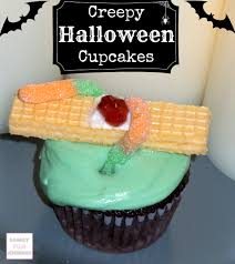 creepy halloween cupcakes family fun journal