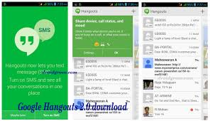hangouts update apk hangouts apk gtalk for android voice calling ui