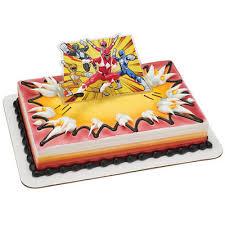 power rangers cake toppers power rangers birthday cake topper power rangers cake kit