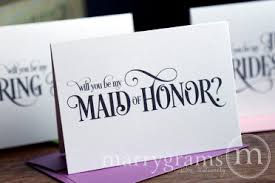 will you be my of honor ideas will you be my bridesmaid cards of honor matron of honor