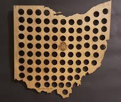 bottle cap necklaces wholesale ohio state buckeyes bottle cap beer cap map shape of ohio
