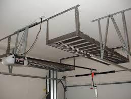 Garage Ceiling Storage Systems by Garage Ceiling Lift Hoist Storage System Home Design Ideas
