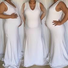 maternity sleeveless fitted mermaid bottom dress maternity