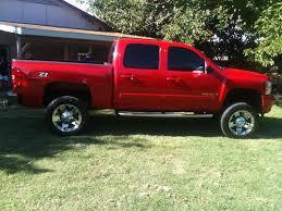 Red Lifted Chevy Silverado Truck - fs 2008 chevy silverado z71 ltz lifted offshoreonly com